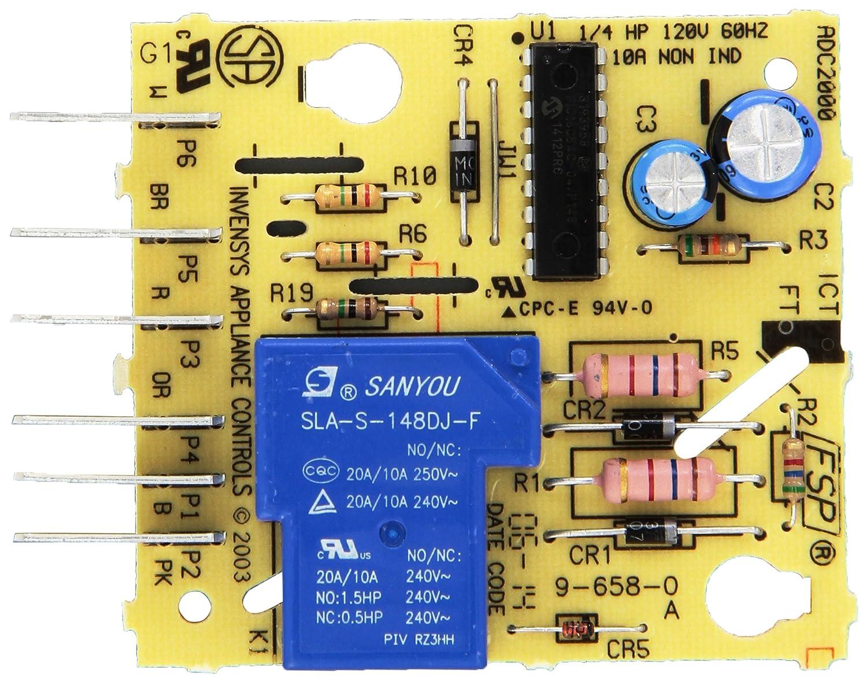 Whirlpool W10352689 Main Control Board