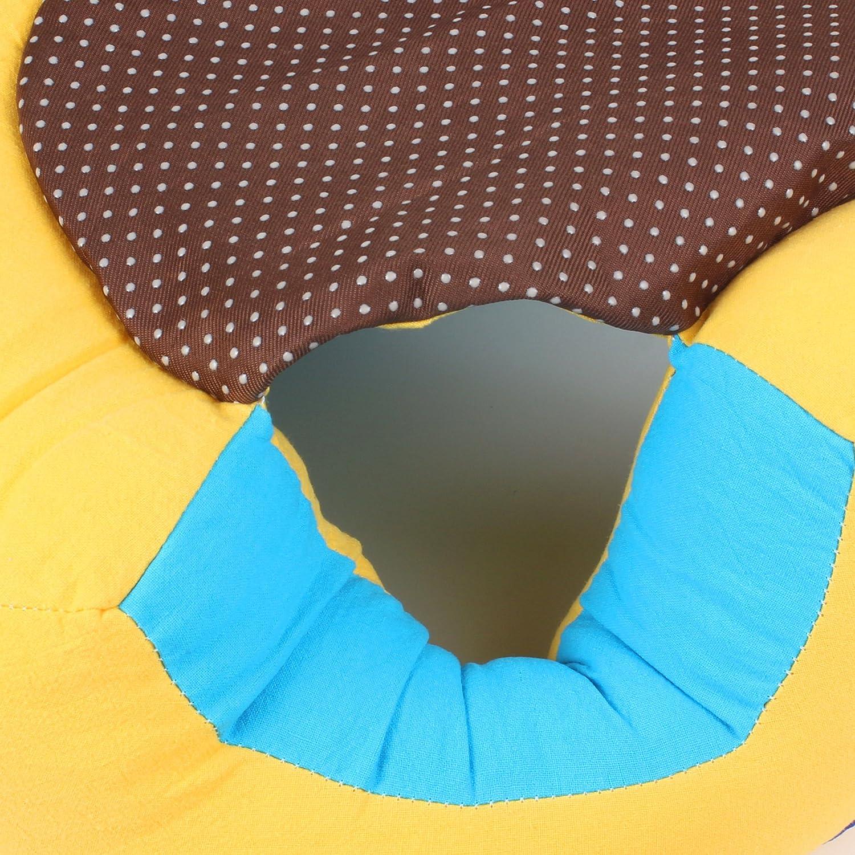 das sicheren Sitz-Stuhl Pink bequeme Baby-St/ützf/ütterungs-Sicherheits-Sofa-Pl/üsch-Geschenk-Spielwaren pflegt. Alpacasso-kreatives Baby