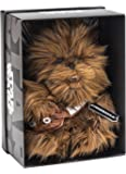 Joy Toy 1601760–Chewbacca Black Line Peluche 25cm en différents matériaux (Cuir, Plastique) avec de Nombreuses Détails et Exclusif Star Wars Emballage