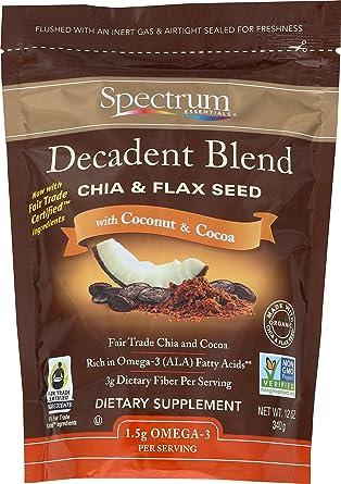 Spectrum Mezcla esencial deliciosa de chia molida y de ...