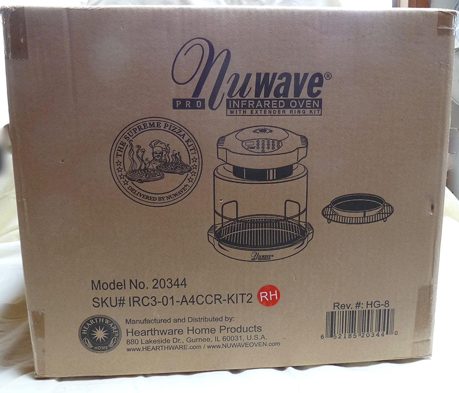 Nuwave Pro Infrared Oven with Extender Ring Kit Model 20344