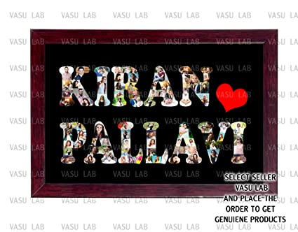 Personalized Name Collage Frames - The Best Frames Of 2018