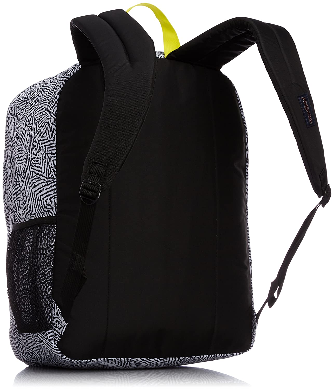 Jansport Big Student Classics Series Backpack Black Ziggy Satchel Sports Outdoors
