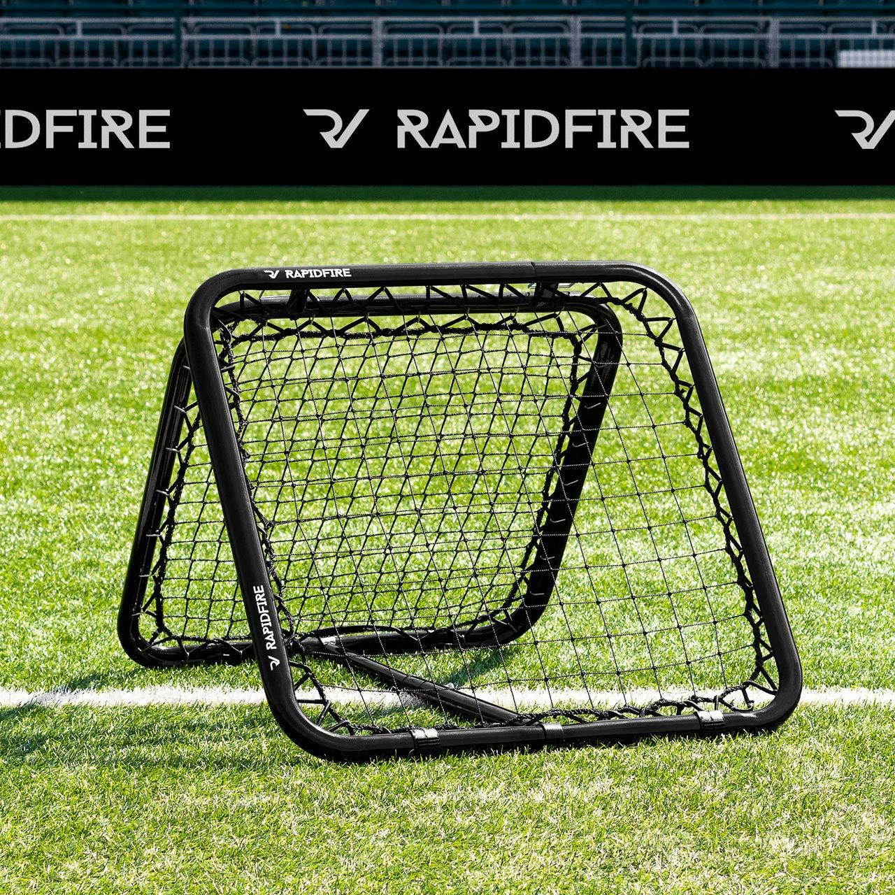 RapidFire 80 Rebounder [Multi-Sport] - Dual-Sided Rebound Net (100% Portable) by rapid-fire-2012