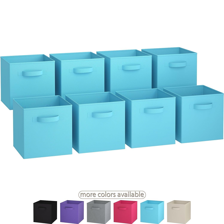 Amazoncom Royexe The Original Set Of 8 Foldable Fabric Storage