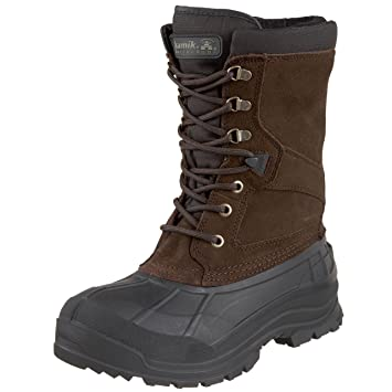 Amazon.com | Kamik Men's Nationwide Waterproof Winter Boot, Dk ...