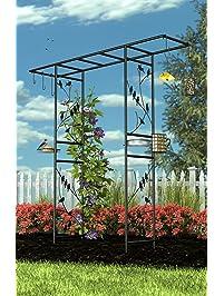 Amazon Com Arbors Plant Support Structures Patio Lawn
