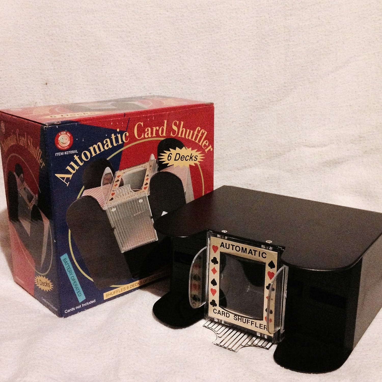 CHH 6 Decks Black Card Shuffler