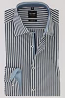 OLYMP -  Camicia classiche  - A righe - Classico  - Maniche lunghe  - Uomo