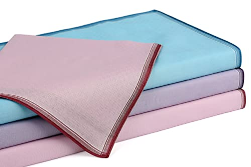 12 fazzoletti da donna, design Chanelle 1, misura 30 x 30 cm, 100 % cotone