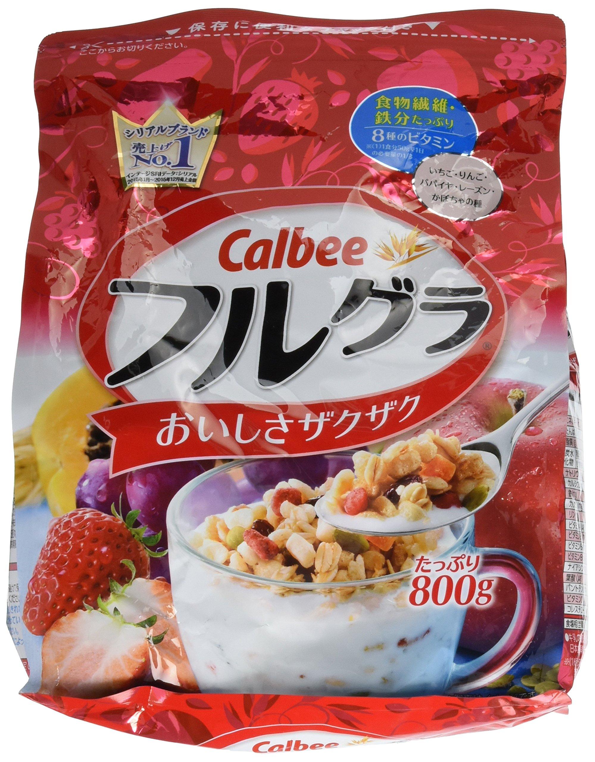 Calbee Fruit granola 800g x 2 Packs