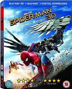 Spider-Man Homecoming [Blu-ray 3D + Blu-ray]