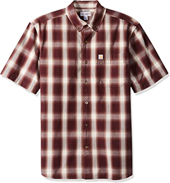Carhartt - Camisa de manga corta con botones para hombre: Amazon.es: Ropa y accesorios