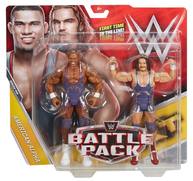 2 Pack Mattel DXG32 Action Figures American Alpha WWE Jason Jordan and Chad Gable