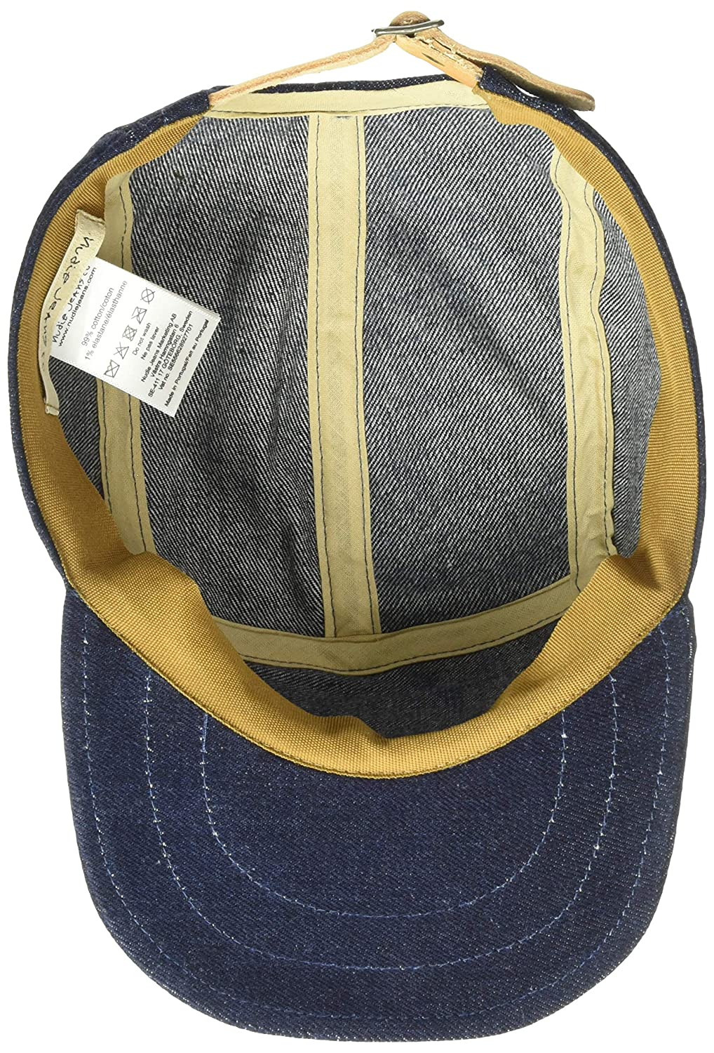8b84d0f16 Nudie Jeans Men's Larsson Recycled Cap, Denim, 998: Amazon.com.au ...