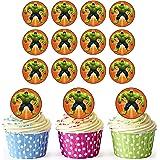 The Incredible Hulk Superheld Cupcake Topper/Kuchen Dekorationen (24Stück)–leicht vorgeschnittenen Kreise