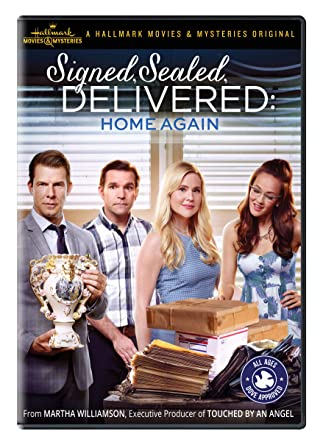 Amazoncom Signed Sealed Delivered Home Again Eric Mabius