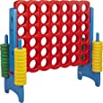 ECR4Kids Jumbo 4-To-Score Oversized Game for Kids and Adults - 4 Feet -  Primary