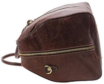 Iblue Vêtements d'affaires en cuir véritable Nuit Voyage Garment Gym Tote Bag 56cm # D-013 LOdKCFnJe9