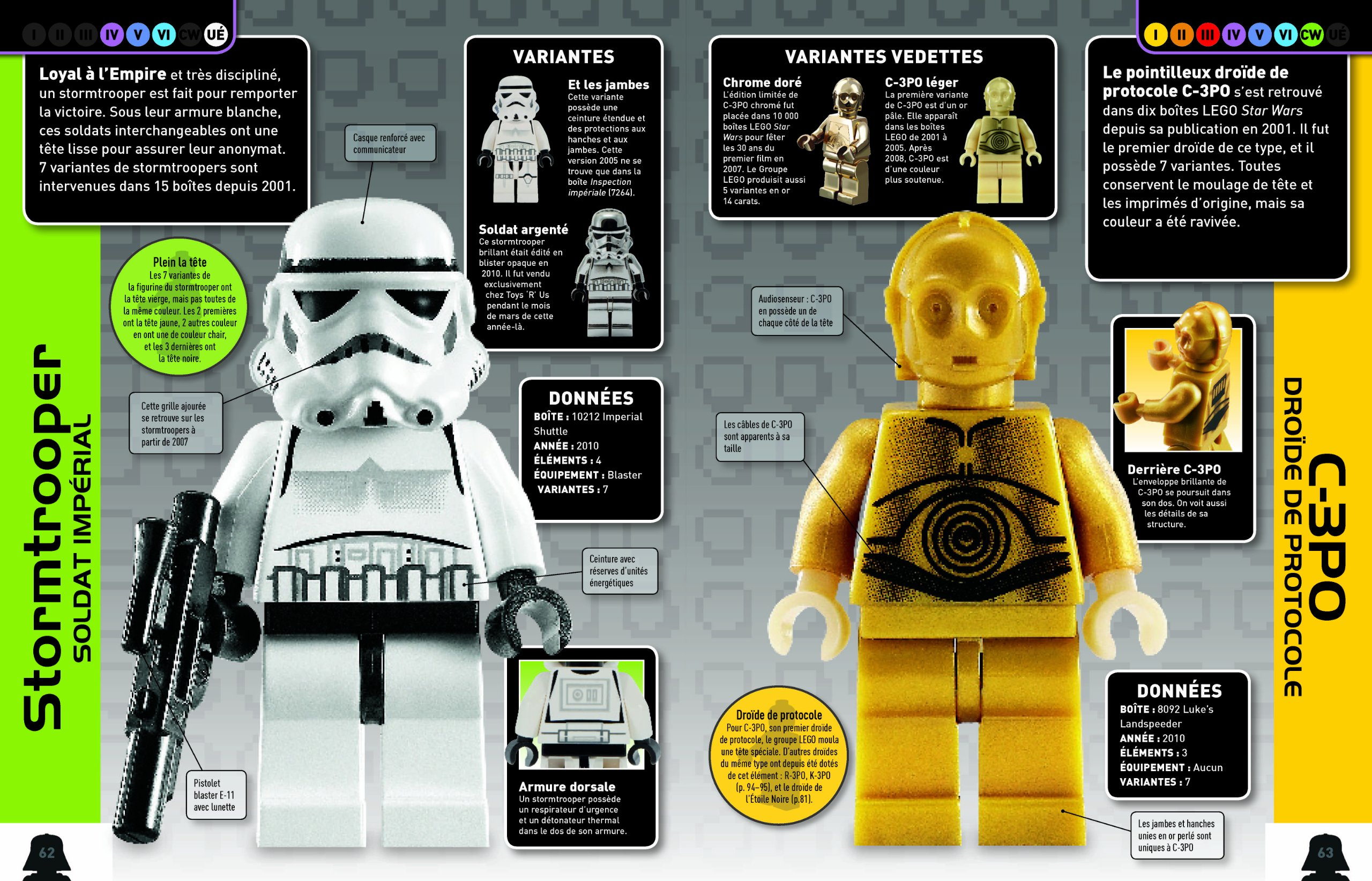amazonfr lego star wars lencyclopdie des personnages hannah dolan livres