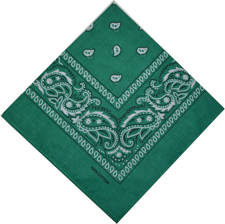 Bandana 100 % Coton Original Paisley Foulard accessoire Bandeau cheveux  Echarpe Mouchoirs Homme Femme Enfant Meilleurs cadeaux de Noël 2018 34627ac2919