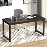 """NSdirect 63"""" Large Computer Desk,Modern Simple Style PC Table Office Desk Wide Workstation for Study Writing,Gaming and Home"""