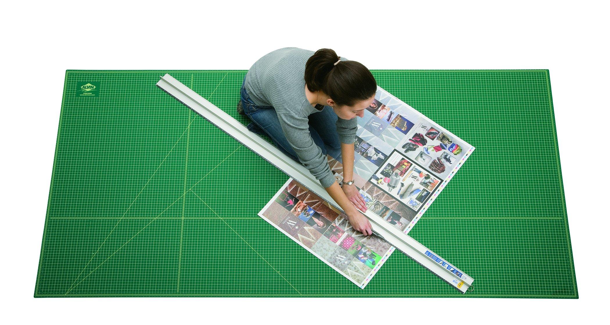 Alvin GBM Series Green/Black Professional Self-Healing Cutting Mat 36 x 48 (GBM3648) by Alvin (Image #4)