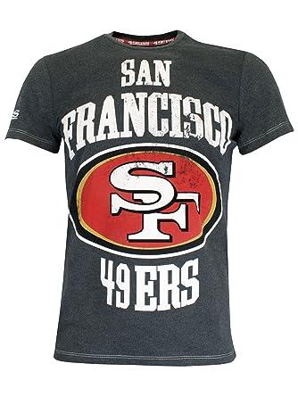5108fe5bc9995 San Francisco 49ers - Camiseta para hombre NFL - Talla Small  Amazon.es   Ropa y accesorios