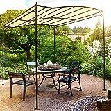 Miadomodo Gazebo giardino pergola tettoia auto giardino
