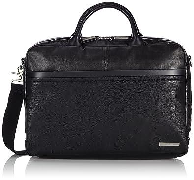 51d44711d Calvin Klein Jeans Mens TOM SOLID LAPTOP BAG Handbag Black Size: 40x28x10
