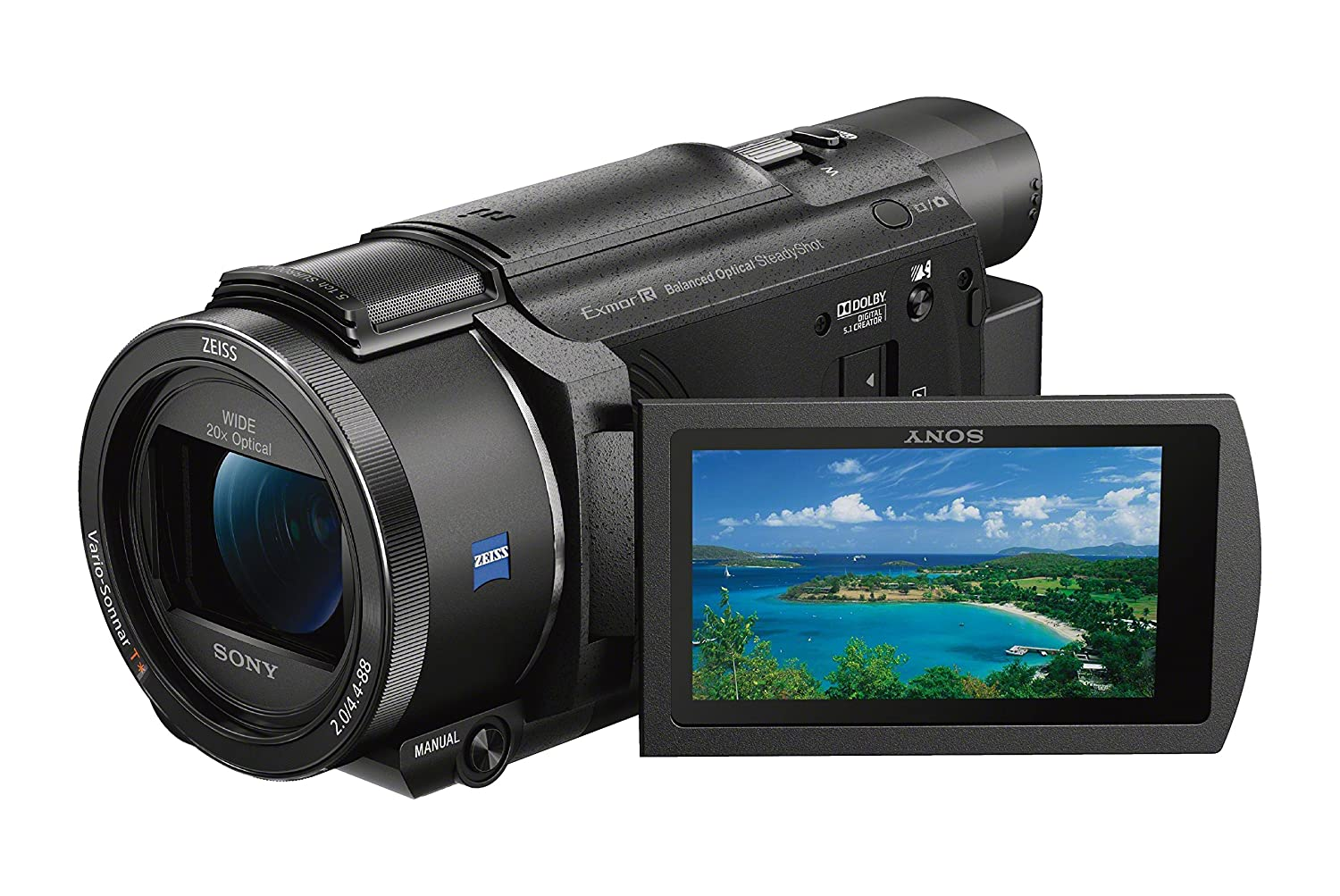 6690ee1df30 Buy Sony FDRAX53 B 4K HD Video Recording Camcorder (Black) Online at Low  Price in India
