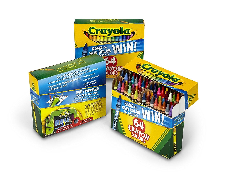 Crayola 64 Ct Crayons 52-0064