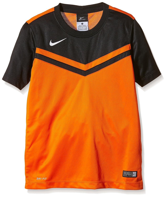 Nike SS YTH Victory II Jersey - Camiseta para niño, Color Naranja/Negro, Talla S: Amazon.es: Zapatos y complementos