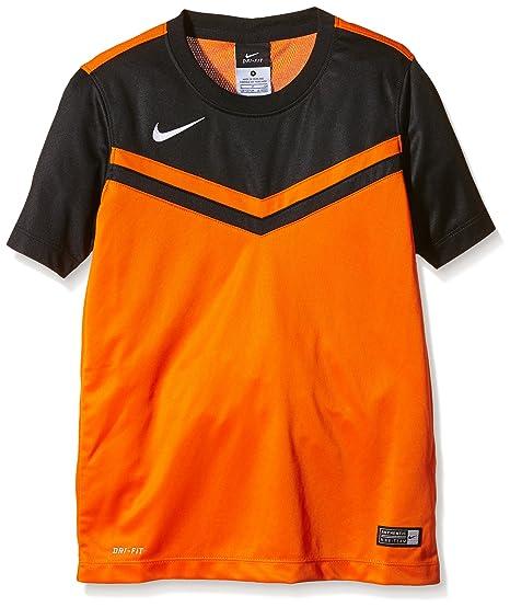 TG. Small Nike Ss Striker Iv Jsy Maglietta Manica Corte Uomo Bianco/Bianco/R