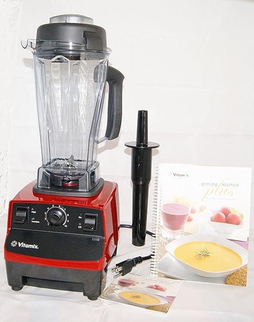Vitamix 5200 Series licuadora 64 Oz, color rojo 7 años de garantía ...