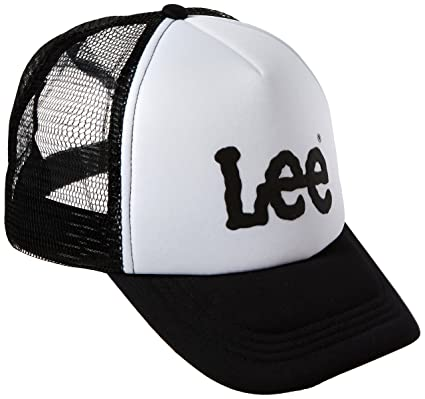 Mens Trucker Cap, Black, One Size (Manufacturer Size: 88) Lee