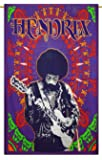 Jimi Hendrix Wall Hanging Cotton Home Decor Throw Bedspread Tapestry Twin Size 84 X 56 Inches