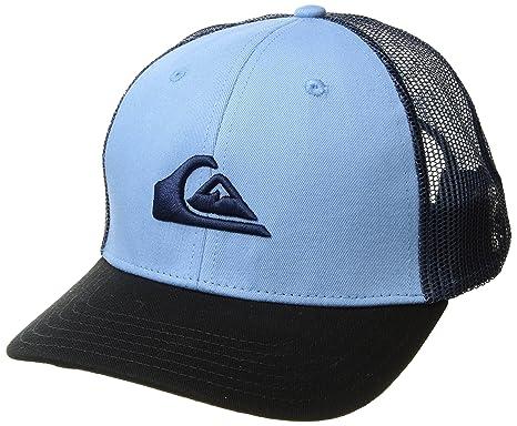 hot sale online 54c2b 3104c Quiksilver Men s Grounder HAT, Dusk Blue 1SZ