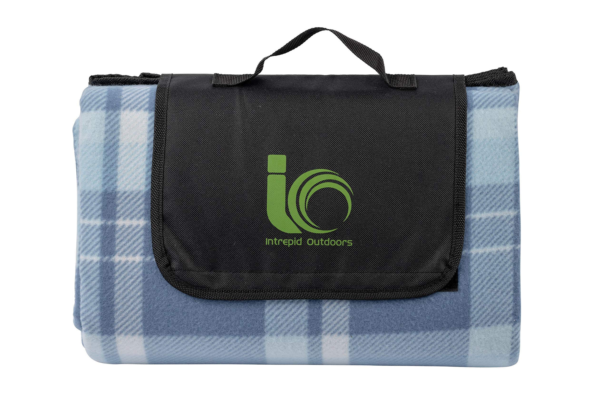 Intrepid Outdoors Waterproof Picnic Blanket - Extra Large Portable Blanket for Beach, Camping, Lawn, Festival, Hiking and Outdoors. by Intrepid Outdoors