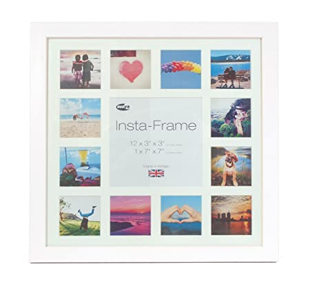Inov8 16 x 16-Inch Insta-Frame Kayla Photo Frame for 13 Instagram ...