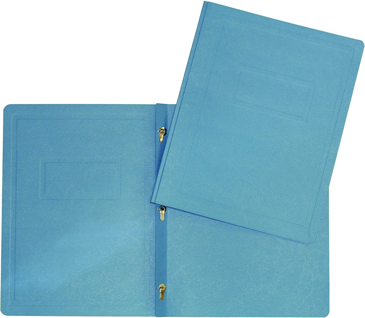 Hilroy 06226 3-Prong Report Cover, Light Blue, 25 Per Pack
