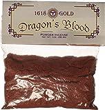 1 X Dragons Blood Powder Incense 1618 gold