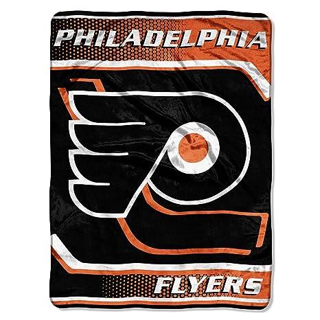 The Northwest Company Officially Licensed NHL Philadelphia Flyers Banner  Royal Plush Raschel Throw Blanket 5127abe3b