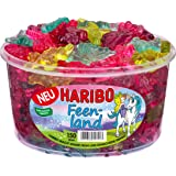 Haribo Feenland, Gummibärchen, Weingummi, Fruchtgummi, 150 Stück, 1200 g Dose