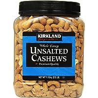 Kirkland Signature Kirkland Signature Unsalted Cashews, 2.5 Pound, 2 Pack