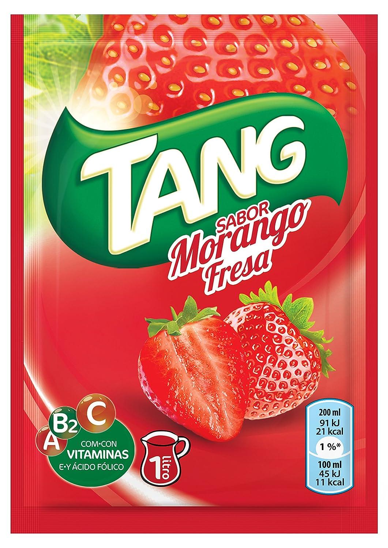 Tang Polvo para Bebida, Sabor Fresa - 30 gr: Amazon.es: Alimentación y bebidas