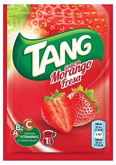 Tang Polvo para Bebida, Sabor Fresa - 30 gr