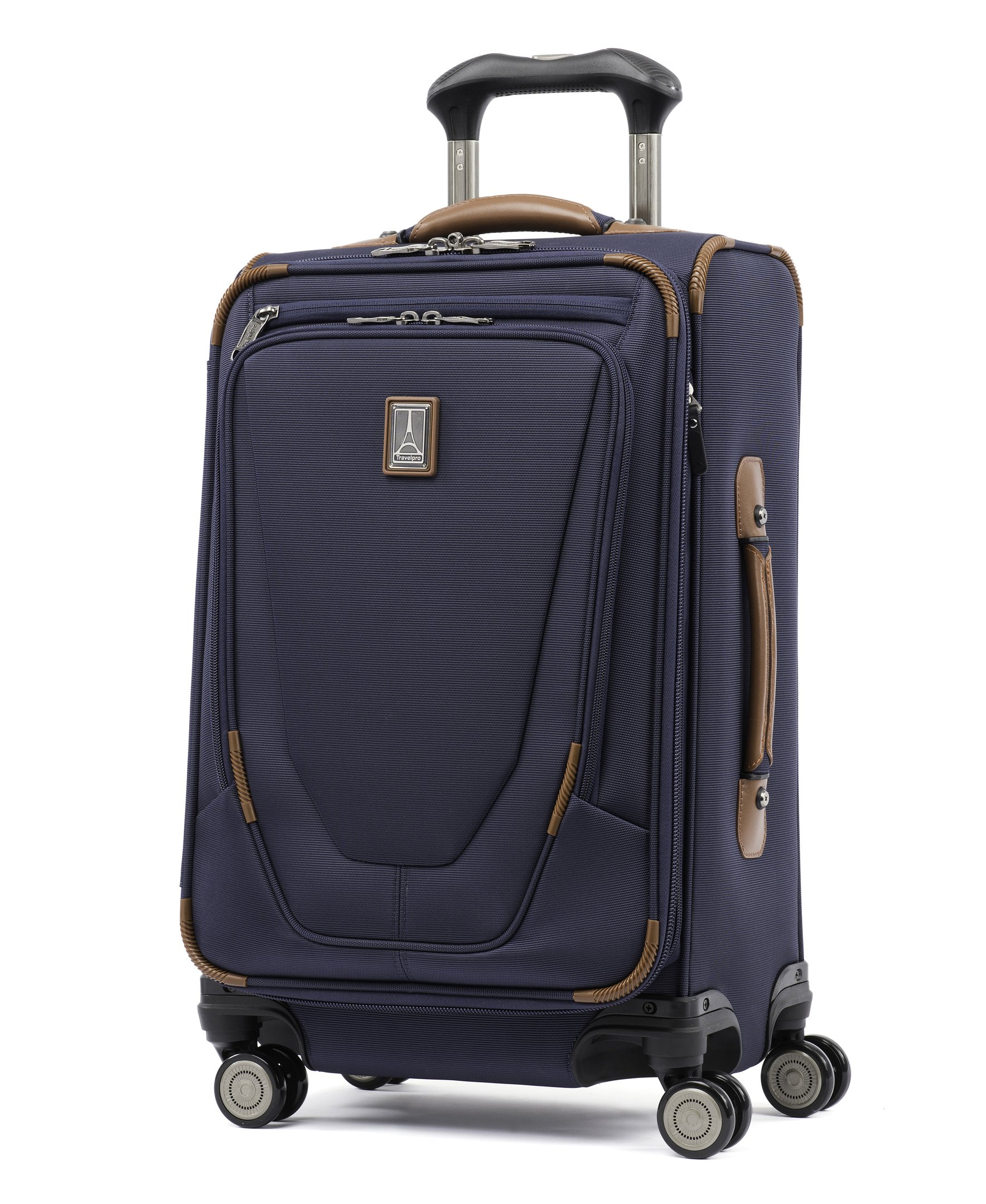 Travelpro Crew 11 21'' Expandable Spinner Carry-on Suiter Suitcase, Patriot Blue