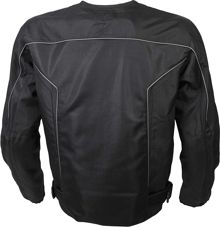 14204-6 ScorpionExo Mens Drafter II Jacket Silver, X-Large