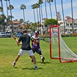 GoSports Regulation 6' x 6' Lacrosse Net with Steel Frame   The Only Truly Portable Lacrosse Goal for Kids and Adults   Backyard Setup in Minutes